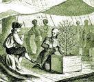 Gabriel de Clieu bringt die empfindlichen Kaffeepflanzen von Amsterdam nach Martinique.