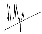 unterschrift maier