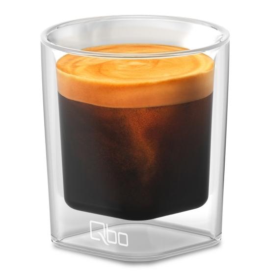 Espresso im Qbo-Glas